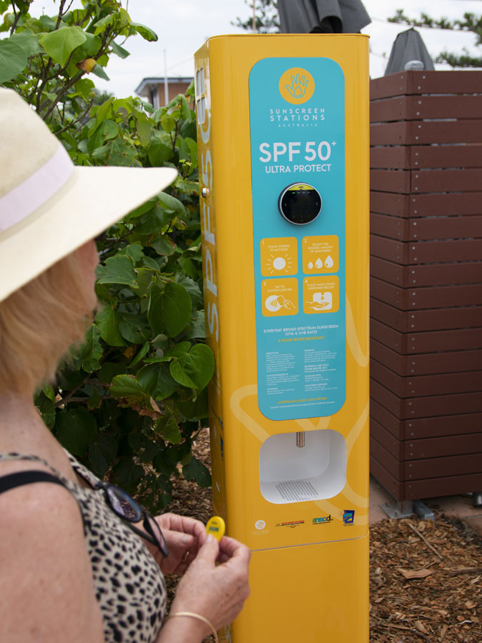 Sunscreen Stations
